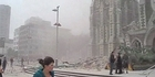 Watch: Chilling footage from seconds after  earthquake