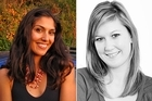 Mariam Soraya Vorster, left, died mysteriously in Chiang Mai just weeks before New Zealander Sarah Carter, right. Photos / Supplied