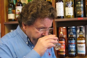 Michael Fraser Milne of Christchurch whisky specialist store Whisky Galore. Photo / supplied