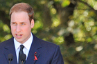 Representing the Queen, Prince William today told Cantabrians to stay strong.