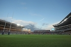 Auckland's upgraded 60,000-seat Eden Park will gain the Rugby World Cup quarter-finals that were to have been played in Christchurch's damaged AMI Stadium. Photo / Getty Images