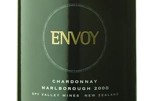 2008 Spy Valley Envoy Chardonnay, Marlborough, $35-40. Photo / Supplied