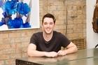Liam Bowden in the workspace that fuels his creativity. Photo / Babiche Martens