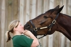 Lisa Mannberg has high hopes for Annicka.  Photo / Richard Robinson
