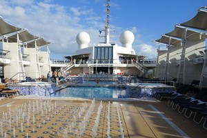Just being on the Celebrity Eclipse is exciting - never mind the destinations. Photo / Alice Neville