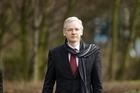 The founder of WikiLeaks website Julian Assange. Photo / AP