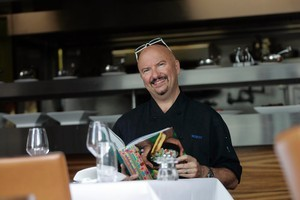 Robert Oliver's cookbook won a top prize. Photo / Doug Sherring