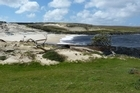 Sea levels peaked in the Chatham Islands, where the tide was lifted 80cm, producing 1.6-metre waves. Photo / Supplied