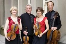 The quartet: Gillian Ansell, Douglas Beilman, Helen Pohl and Rolf Gjelsten. Photo / Supplied