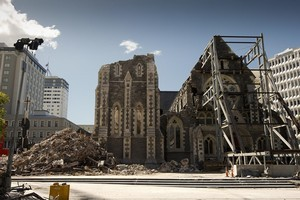 The Christchurch Cathedral. Photo / Getty Images