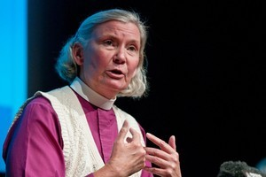 The Bishop of Christchurch Cathedral, Victoria Matthews. Photo / NZPA