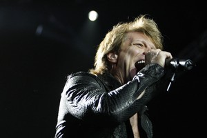 Jon Bon Jovi has accused iTunes - which sells significant amounts of his material - of killing the music industry. Photo / Sarah Ivey
