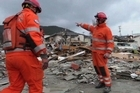 In the coastal town of Ofunato, where 300 homes were destroyed by the devastating 9.0 earthquake and tsunami that hit Japan, British and US rescue teams are still searching for the missing.