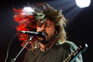 Dave Grohl of Foo Fighters. Photo / NZ Herald