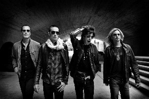 All four members of Stone Temple Pilots are now fathers, which has helped them to sort themselves out. Photo / Supplied