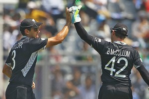 Ross Taylor and Brendon McCullum have performed well for the Black Caps at the World Cup. Photo / Getty Images