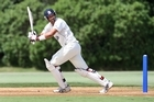Daryl Tuffey of the Aces bats during day three of the Plunket Shield match between the Auckland Aces and the Northern Knights in Auckland. Photo / Getty Images