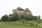 Foodies should visit Parma, where you can find the Tower of Torrechiara. Photo / Jim Eagles