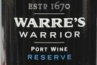 Warre's Warrior Reserve Port, $59. Photo / Steven McNicholl