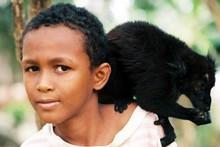 Catch a glimpse of Madagascar's rich history reflected in the faces of its people and dancing primates. Photo / Carol Atkinson