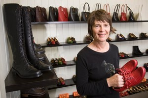 Sandy Cooper says her next outlet is likely to be in Melbourne for the stability of having a toe in a different economy. Photo / Paul Estcourt