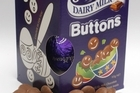 Cadbury's Dairy Milk chocolate buttons Easter eggs have gone up in price. Photo / Richard Robinson