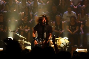 Dave Grohl, lead singer of the Foo Fighters. Photo / Richard Robinson