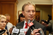 Labour leader Phil Goff. Photo / Mark Mitchell 