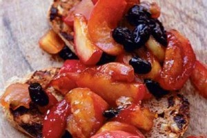 Early autumn apples on hot toast. Photo / Supplied