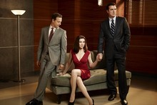The Good Wife plays with infidelity in a titillating way. Photo / Supplied