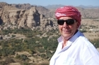 Paul Holmes in Yemen for Intrepid Journeys. Photo / Supplied