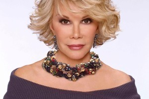 Joan Rivers. Photo / Supplied