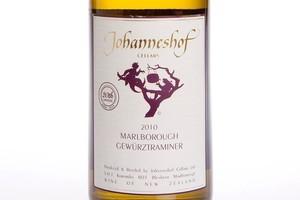 Johanneshof Marlborough Gewurztraminer 2010 $29. Photo / Babiche Martens