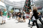 A weak Christmas shopping season weighed down the economy in the last three months of 2010. Photo /Janna Dixon