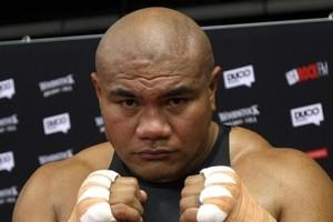 David Tua is seeking a shot at the title. Photo / Dean Purcell
