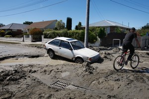 The February 22 earthquake will be classified as a new event for some homeowners but not for others, meaning some will be covered for $200,000 by EQC and others for only $100,000. Photo / Brett Phibbs