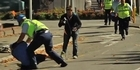 Watch: Anger erupts in Christchurch CBD