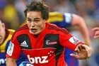 Zac Guildford has been included in the Crusaders starting side for their match against the Sharks in London. Photo / Getty Images