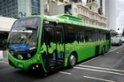 Auckland Transport intends banishing many buses - including those on the inner-city Link service. File photo / Greg Bowker