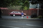 A prostitute stands on the street in Manukau town centre looking for business. Photo / Janna Dixon