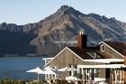 Matakauri Lodge occupies a spectacular site overlooking Lake Wakatipu. Photo / Supplied