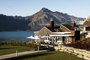 Matakauri Lodge occupies a spectacular site overlooking Lake Wakatipu. Photo / Supplied