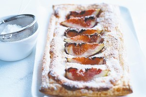 Fig and almond tarts. Photo / Chris Court