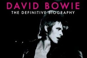 Cover of Starman: David Bowie - The Definitive Biography by David Trynka. Photo / Supplied