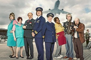 New show Come Fly with Me outraged viewers in the UK with its racist content, however, reviewer Deborah Hill Cone found the unfunny humour to be even more enraging. Photo / BBC