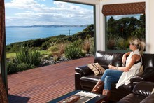 Waoku Lodge proves there's more to Raglan than surfing. Photo / Trevor Penfold