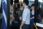 On some busy Auckland routes, buses aren't stopping because they already full to capacity. Photo / Doug Sherring