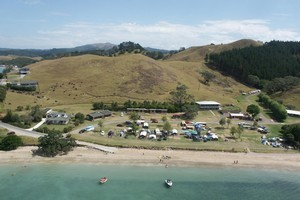 The Whangaruru Camp is popular with families. Photo / Supplied