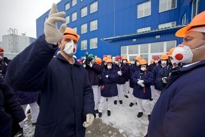 Guided tours of Chernobyl allow outsiders to explore the plant. Photo / AP