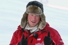 Prince Harry during training for the Walking with the Wounded expedition. Photo / Pool